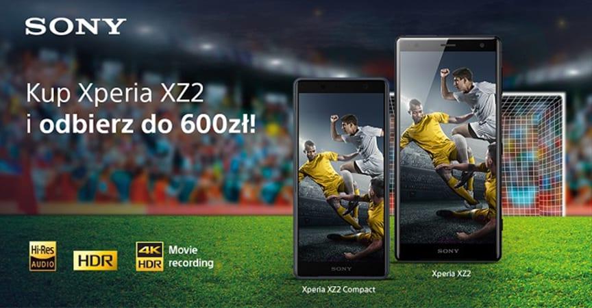 Sony Xperia XZ2 z bonusem 600 zł