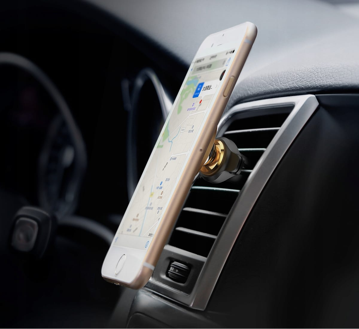 Uchwyt samochodowy BASEUS na magnes AIR VENT CAR